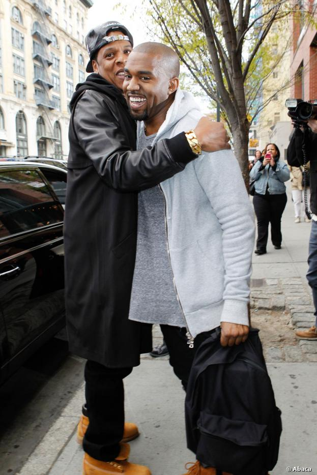 Kanye West et Beyoncé ont rendu visite à la petite famille de Kanye West