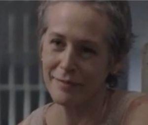 Carol face à Merle dans une scène coupée de la saison 3 de Walking Dead
