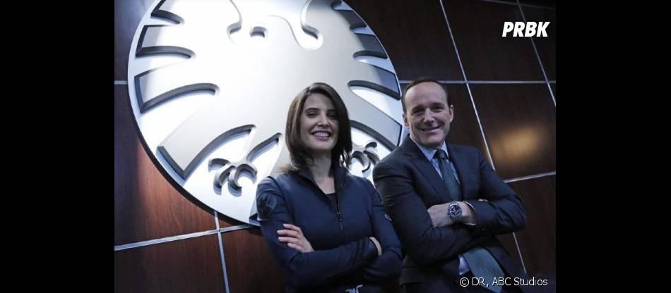 Agents of SHIELD saison 1 : Cobie Smulders et Clark Gregg sur le tournage