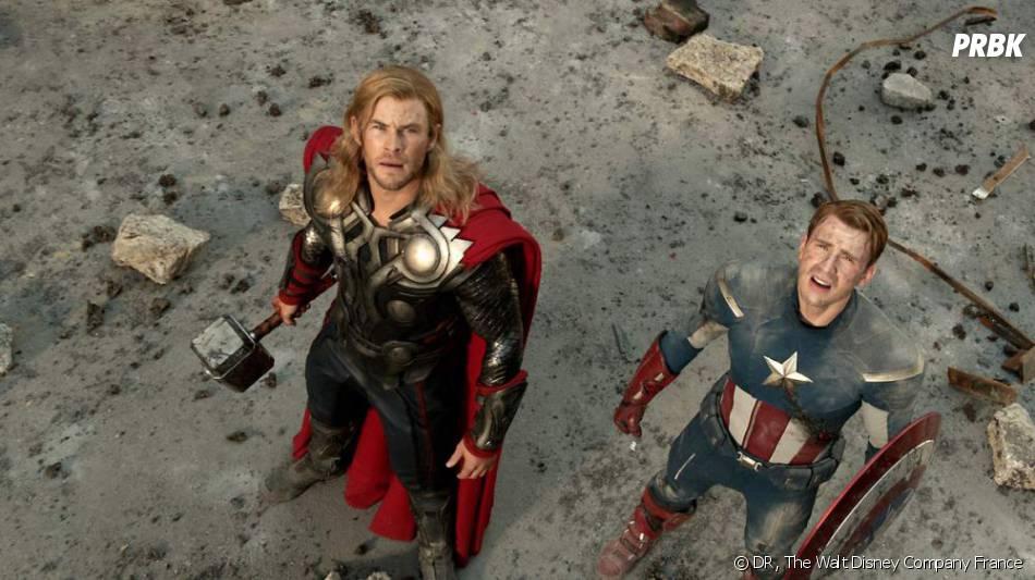 Chris Hemsworth dans Avengers