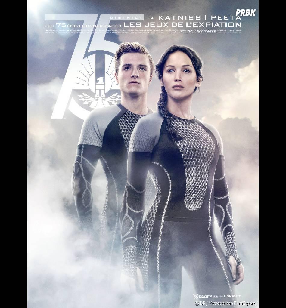 Josh Hutcherson et Jennifer Lawrence dans la suite d'Hunger Games