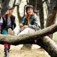 Josh Hutcherson et AnnaSophia Robb dans Le Secret de Terabithia