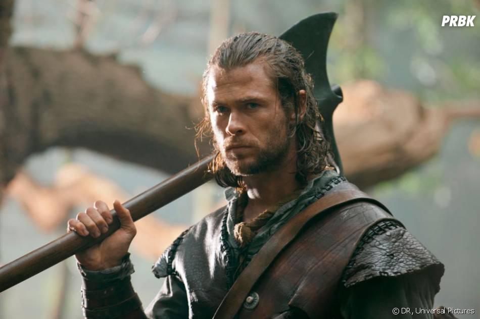 Chris Hemsworth dans Blanche-Neige et le Chasseur