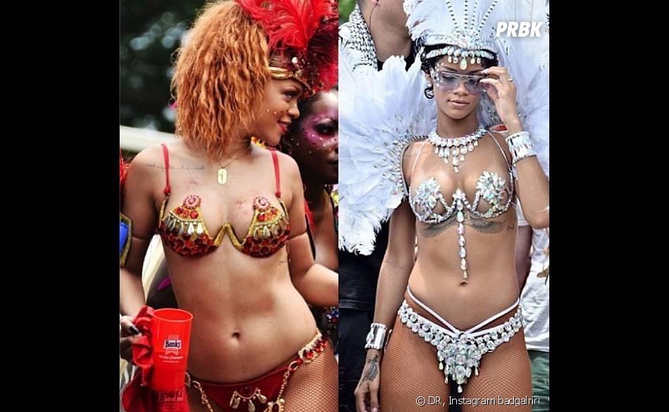 Rihanna : la chanteuse fait monter la température à la Barbade