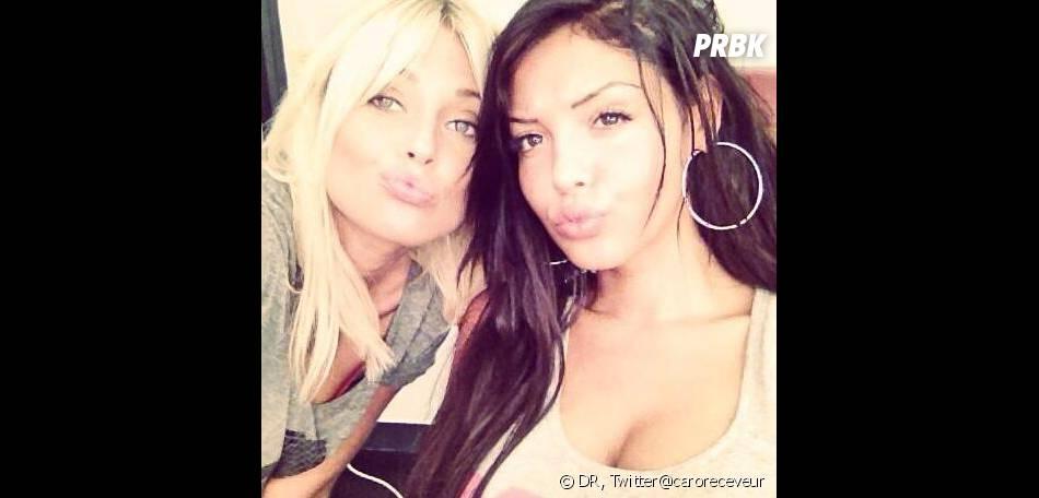Nabilla Benattia et Caroline Receveur ont débuté le tournage d'Hollywood Girls 3 à Los Angeles.