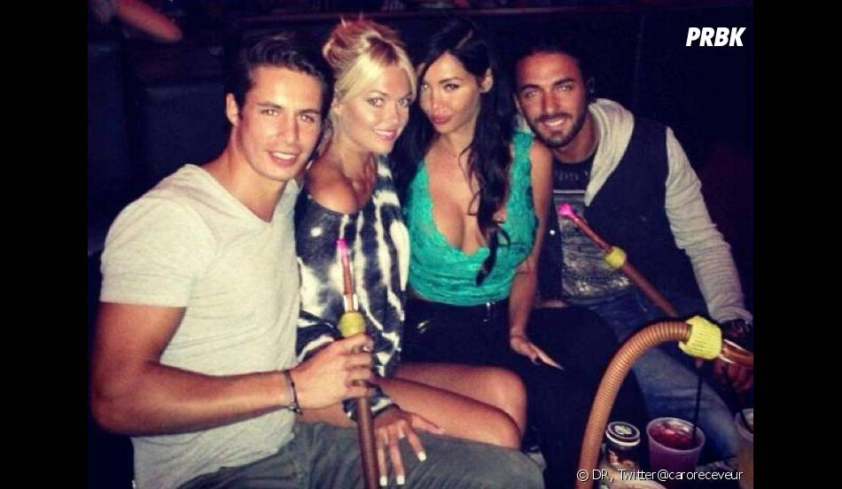 Hollywood Girls 3 : Nabilla Benattia, Thomas Vergara, Caroline Receveur et son petit ami à Los Angeles.