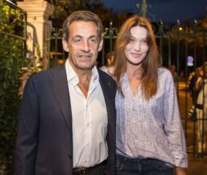 Carla Bruni et Nicolas Sarkozy sont en vacances dans leur maison du Cap-Nègre dans le Var