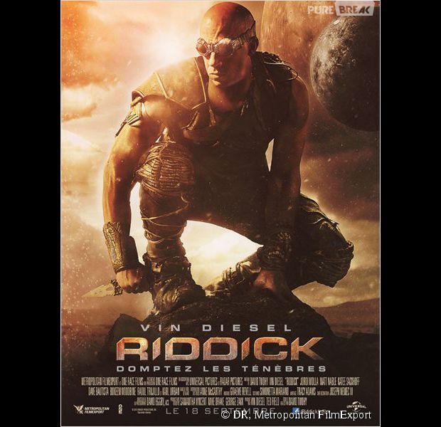 """"""" Riddick """", l'affiche"""