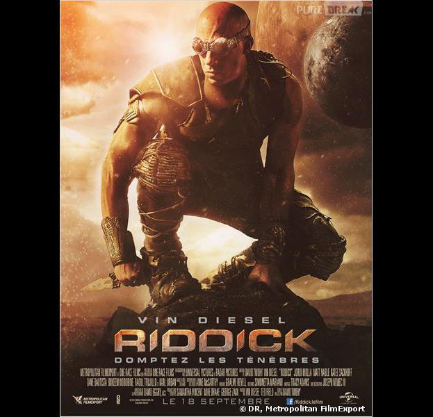 """""""Riddick"""", l'affiche"""