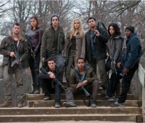 L'Aube Rouge : l'équipe des Wolverines