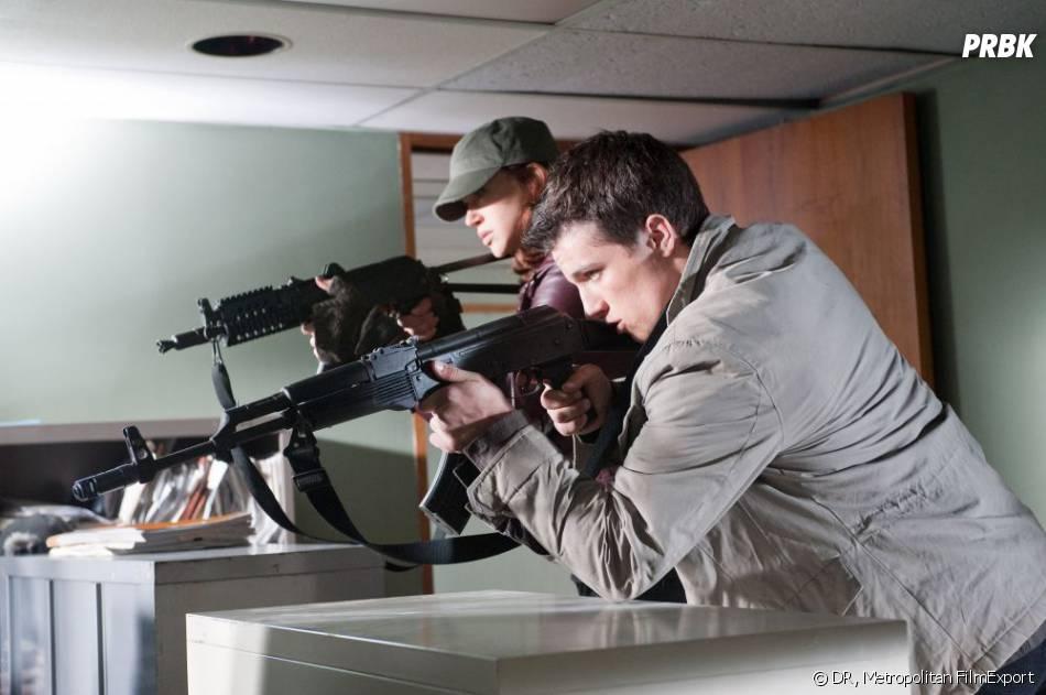 L'Aube Rouge : Josh Hutcherson en mode film d'action