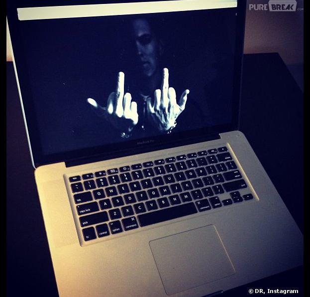 Eminem sur Instagram : sa première photo fait polémique.