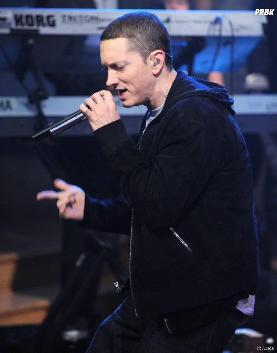 Eminem fait polémique sur Instagram.