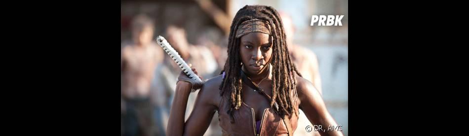 The Walking Dead saison 4 : Michonne en danger dans un premeir extrait