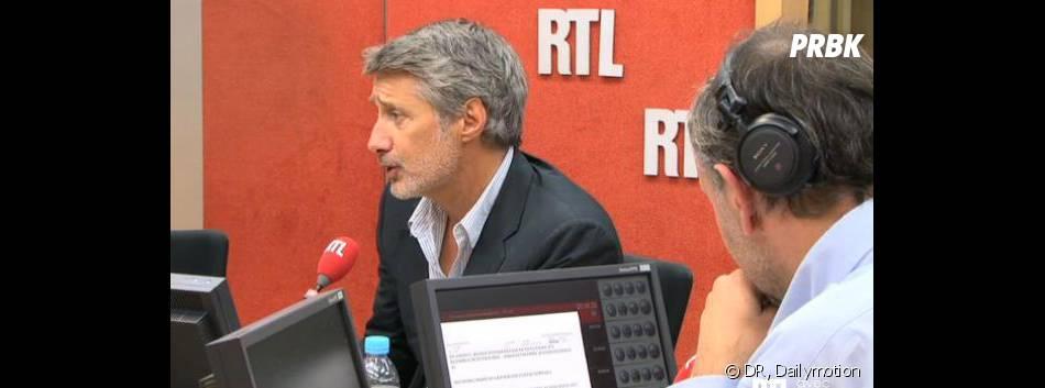 Le Grand Journal : Antoine de Caunes à la présentation ce soir sur Canal +.