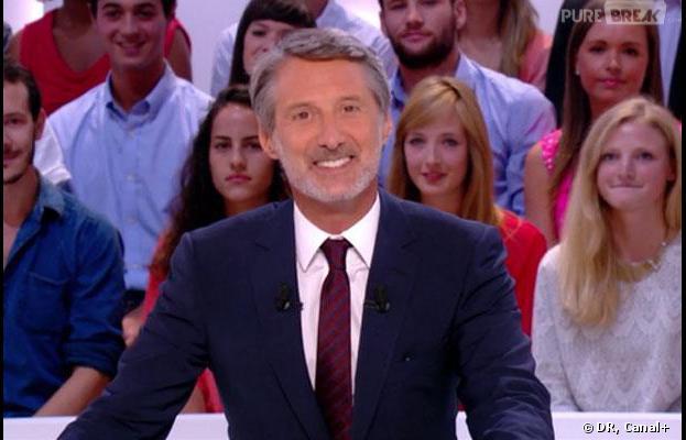 Antoine De Caunes pour la rentrée du Grand Journal sur Canal +