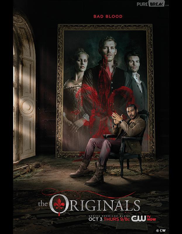 The Originals saison 1 : les Originaux en peinture sur un poster