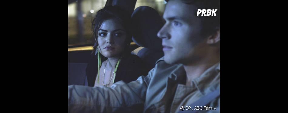 Pretty Little Liars saison 4 : un future pour Aria et Ezra ?