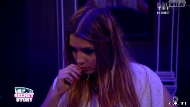Secret Story 7 : Clara face à l'ultimatum de la Voix.
