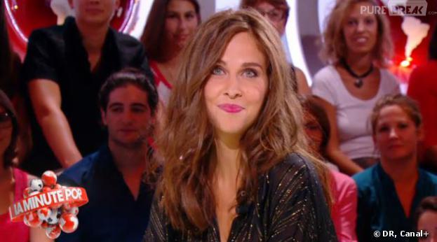 Ophélie Meunier anime La Minute Pop dans le Petit Journal de Canal+