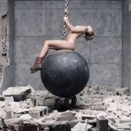Miley Cyrus : Wrecking Ball, le clip avec des grosses boules