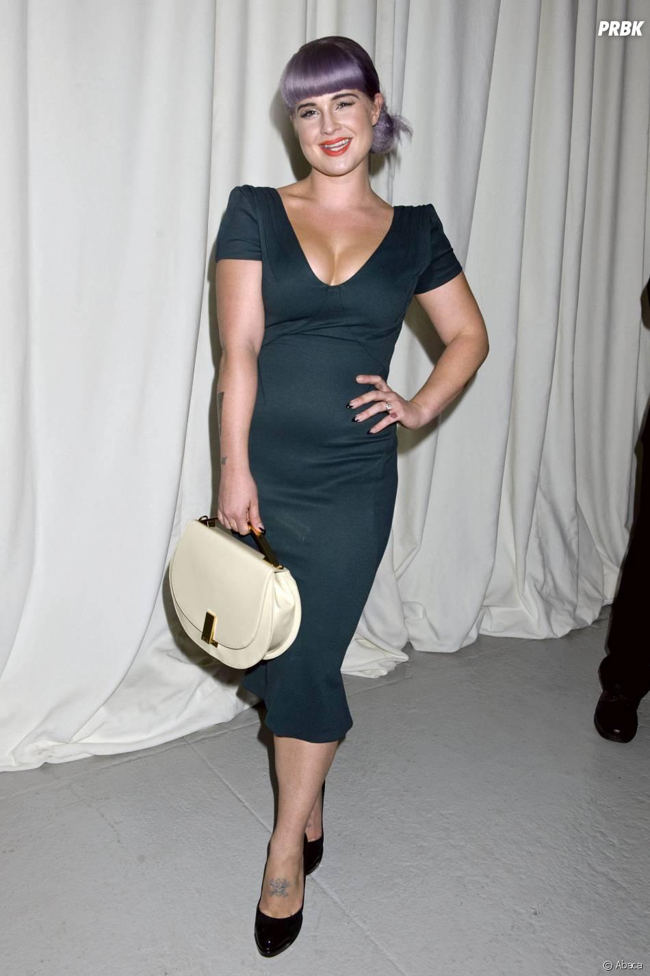 Kelly Osbourne à la Mercedes Benz Fashion Week de New-York en septembre 2013
