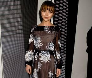 Christina Ricci à la Mercedes Benz Fashion Week de New-York en septembre 2013