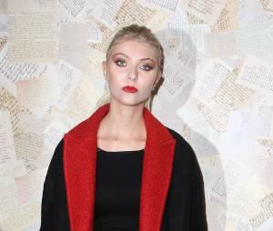 Taylor Momsen : fini le noir aux yeux à la Fashion Week de New York le 11 septembre 2013