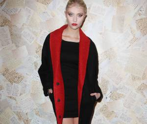 Taylor Momsen glamour à la Fashion Week de New York le 11 septembre 2013