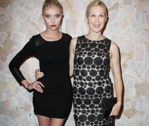 Taylor Momsen retrouve Kelly Rutherford à la Fashion Week de New York le 11 septembre 2013