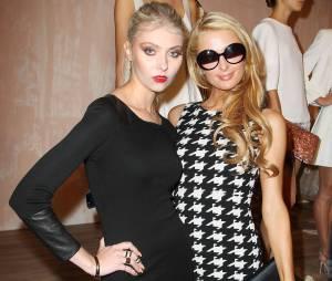 Taylor Momsen et Paris Hilton à la Fashion Week de New York le 11 septembre 2013