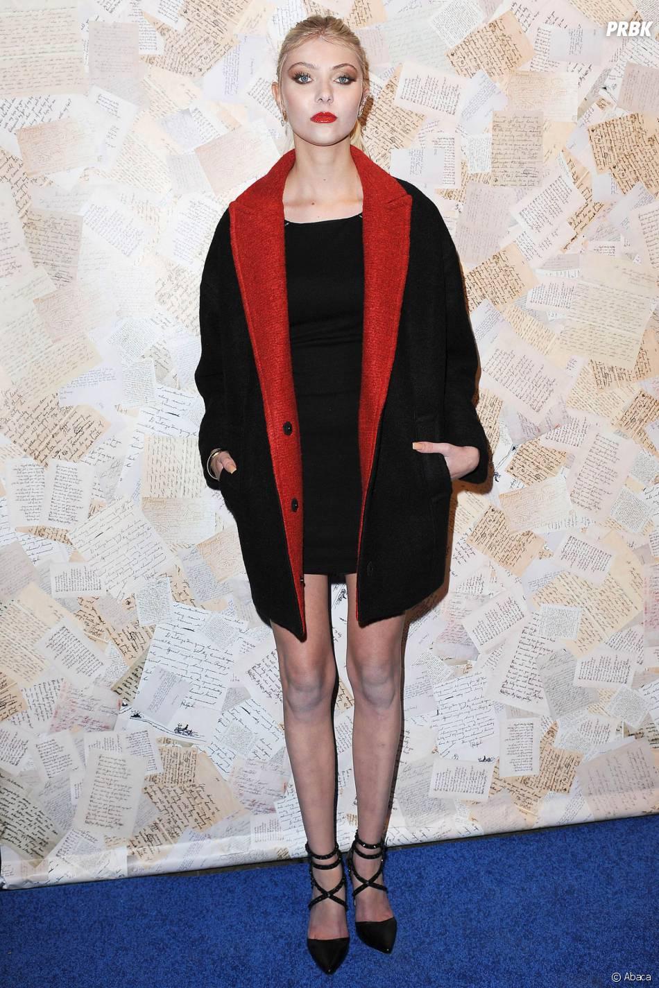 Taylor Momsen de retour à la Fashion Week de New York le 11 septembre 2013