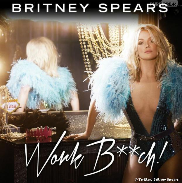 Britney Spears : Work Bitch, la pochette de son nouveau single dévoilée sur Twitter
