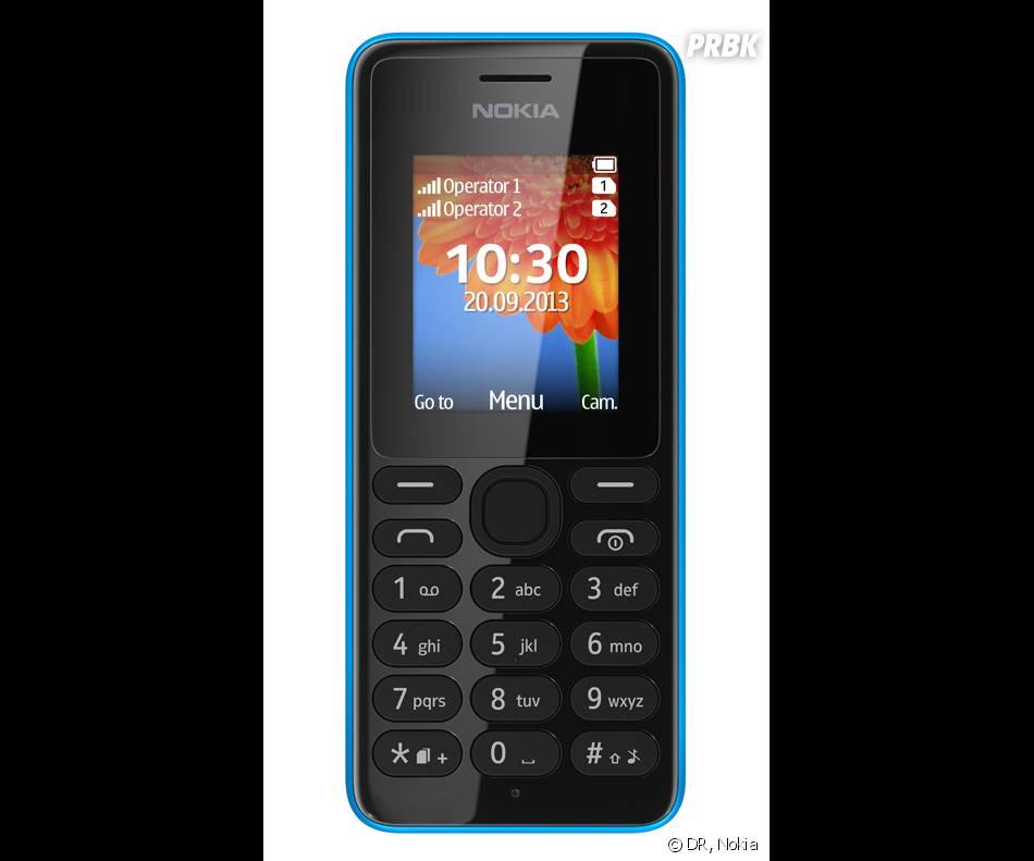 Le Nokia 108 est doté d'un écran couleur