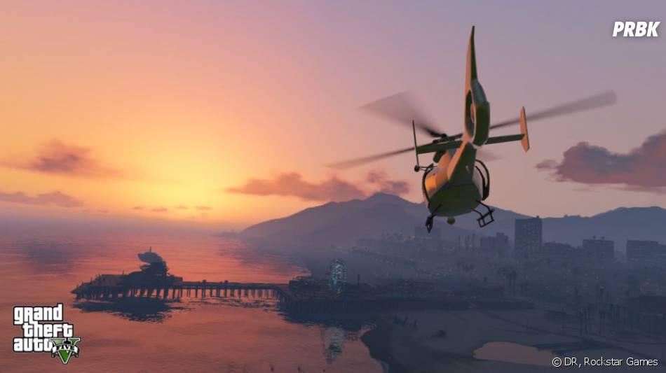 GTA 5 : il sera possible de piloter des hélicoptères
