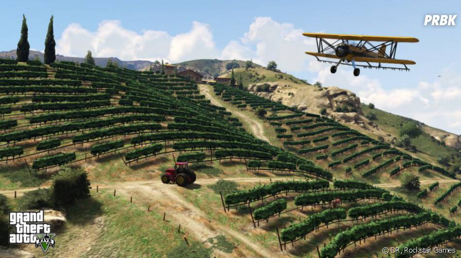 GTA 5 : il sera également possible de piloter des bi-planes