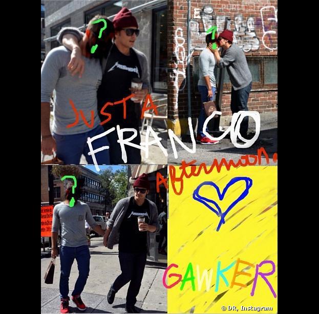 James Franco se moque des rumeurs sur son homosexualité avec une photo de lui embrassant un garçon