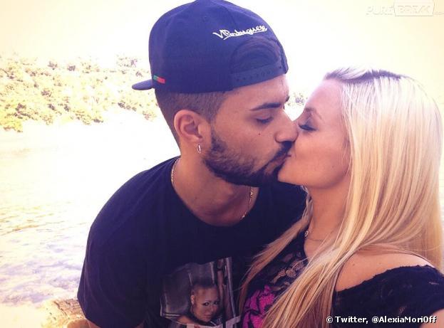 Secret Story 7 : Alexia et Vincent postent des photos sur Twitter pour prouver leur amour