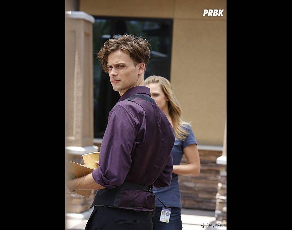Esprits Criminels saison 9 : Matthew Gray Gubler dans l'épisode 1