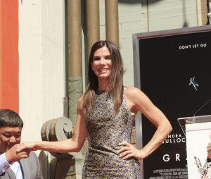 Sandra Bullock reçoit son étoile sur le Walk of Fame le 25 septembre 2013