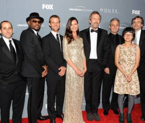 David Shore et les acteurs de Dr House