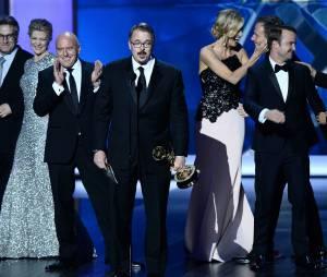 Vince Gilligan reçoit le prix de meilleure série dramatique aux Emmy Awards 2013