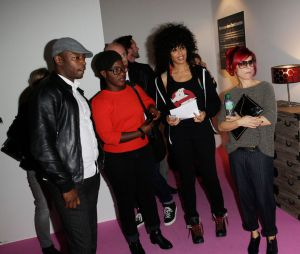 Marina Foïs, MC Solaar, Claudia Tagbo... : les stars se mobilisent pour le Solidarité Sida à l'exposition Sex in the city, octobre 2013