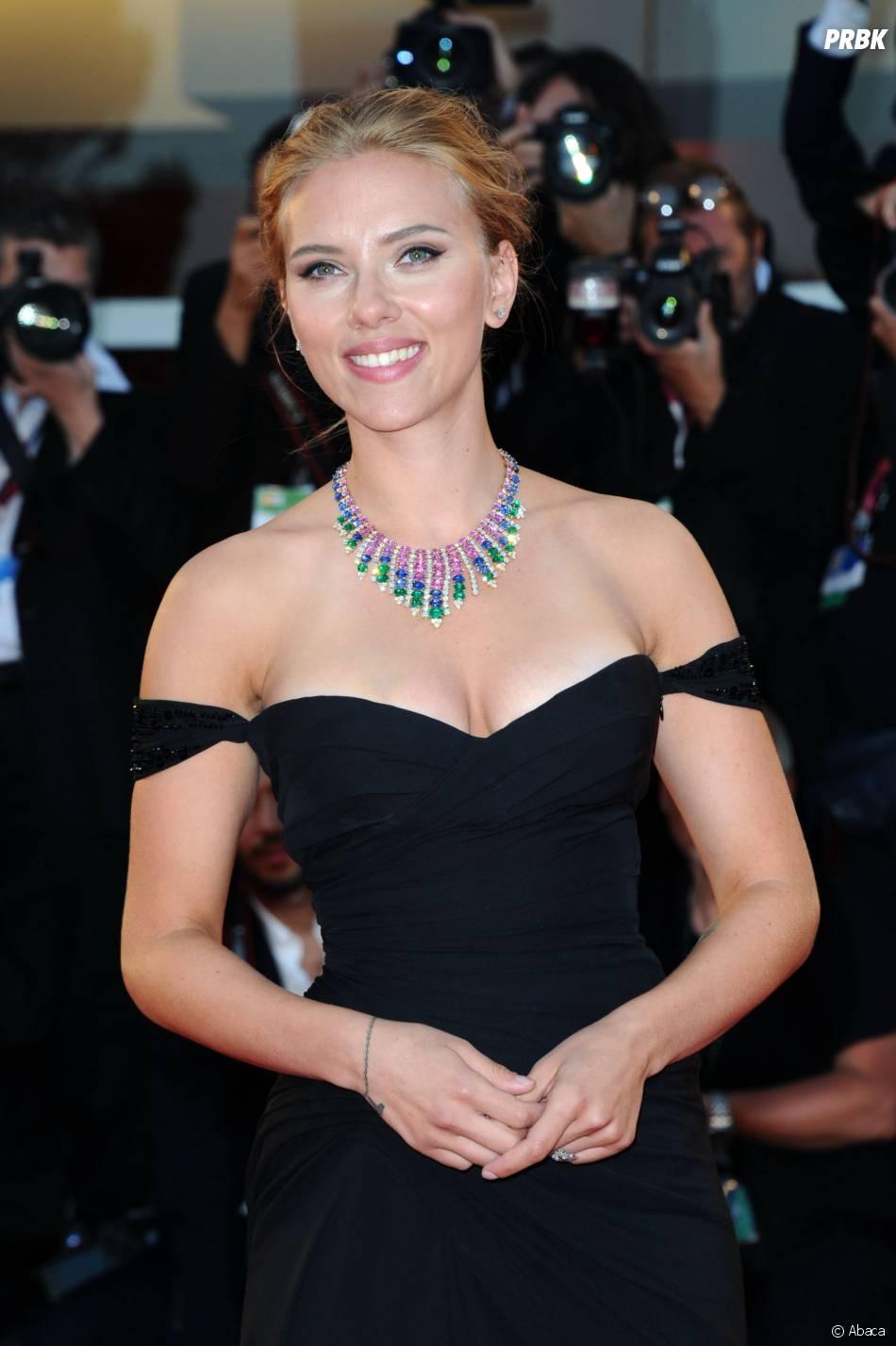 Scarlett Johansson mariée à Paris ?