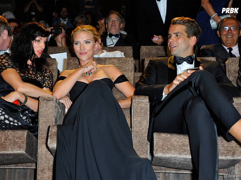 Scarlett Johansson fiancée à Romain Dauriac