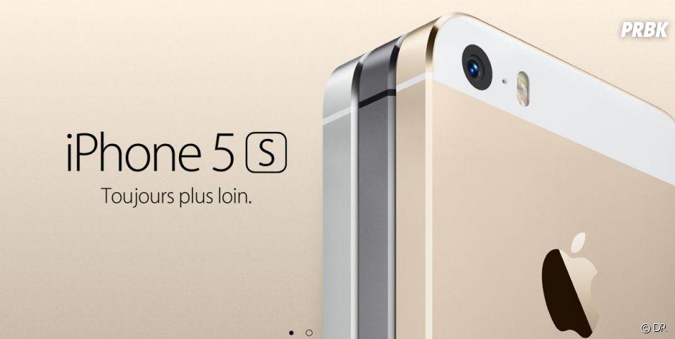 iPhone 5S est sorti le 20 septembre à partir de 699€