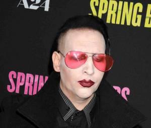 Marilyn Manson à l'avant-première de Sping Breakers en 2013