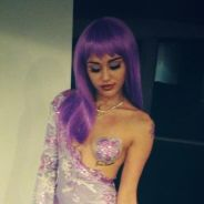 Miley Cyrus : déguisement naturiste et citrouilles sexuelles pour Halloween