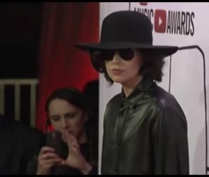 Lady Gaga méconnaissable aux Youtube Music Awards