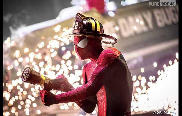 The Amazing Spider-Man 2 : Peter Parker, Gwen Stacy et Electro sur les nouvelles photos promo